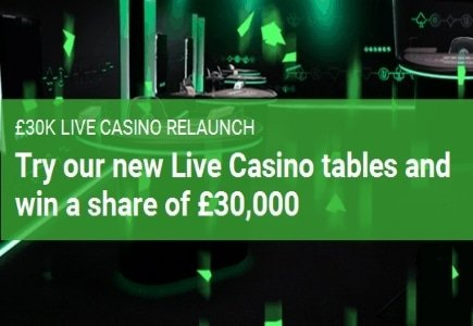 Unibet Celebrates Live Casino Relaunch