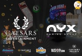 Caesars Interactive Entertainment to Re-launch their Online Casino Brand on NYX's Market Leading Platform