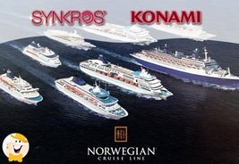 Konami Gaming SYNKROS System to Power up Norwegian Cruise Fleet Casinos