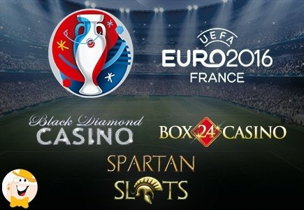 Black Diamond, Spartan Slots and Box 24 Offer Free Trip to Euro 2016