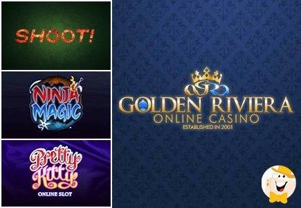 New Slot Games at Golden Riviera Casino