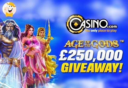 Grab Furious Prizes Playing Age of the Gods Slot Series at Casino.com