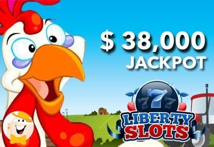 Liberty Slots Casino Player Wins $38,000 on Funky Chicken Slot