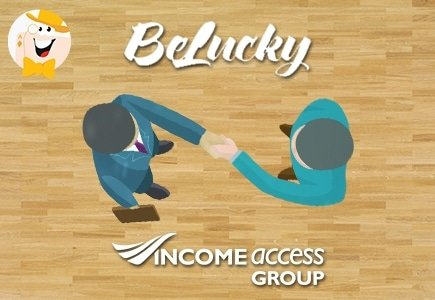 BeLucky Announces Partnership with Income Access