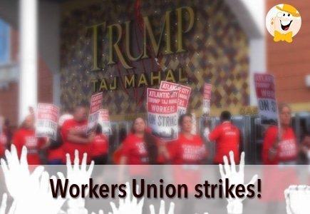 Workers Union to Strike Against Taj Mahal Casino on Friday