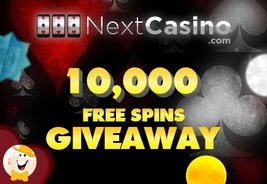 Claim a Share of NextCasino's 10,000 Free Spins Giveaway