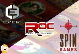 Everi to Launch Content on Spin Games' HTML5 Server, ROC