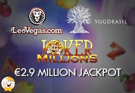 Yggdrasil's Joker Millions Pays €2.9M at LeoVegas
