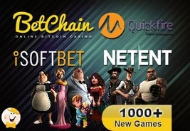 BetChain Now Boasts Over 1,000 Games