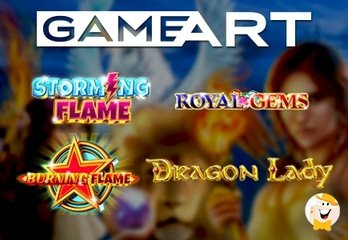 New Slots from GameArt: Storming Flame