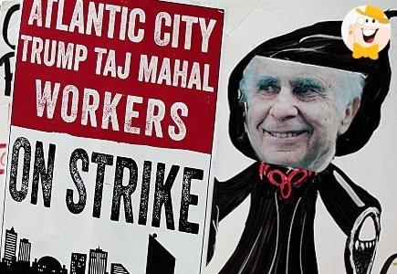 Trump Taj Mahal Strike Fails and Results in Closure of the Casino