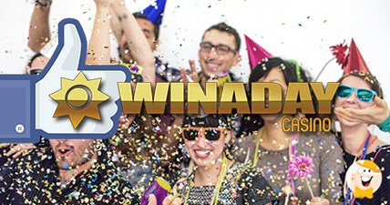 Slotland and winaday celebrate facebook followers with weekend bonuses