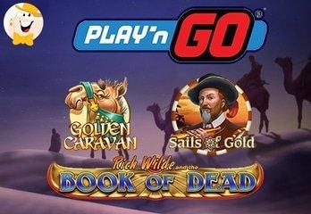 Neue Spielautomaten von Play'n GO Casinos im Juni