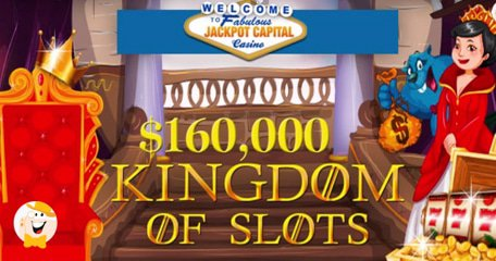 $160K in Jackpot Capital Casino Bonuses Could be yours in September