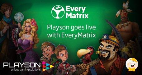 Playson to Integrate Content to EveryMatrix CasinoEngine Platform