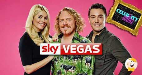 Celebrity Juice Now Proudly Sponsored by Sky Vegas