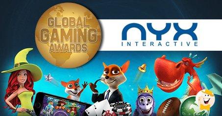 NYX Gaming Walks Away from Global Gaming Awards as 'Top Digital Gaming Innovator'