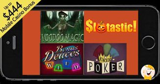 New Additions to Slotastic's Mobile Casino