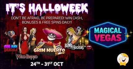 Enjoy a week full of halloween surprises at magical vegas