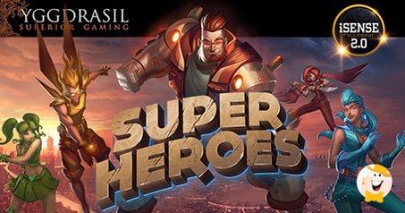 Yggdrasil Gaming Sends 6 Super Heroes to Save the World
