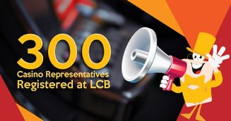 A Milestone Conquered! 300 Casino Reps Registered at LCB