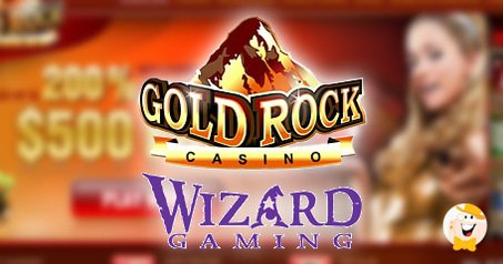Gold Rock Casino is the 1st licensee of Wizard Gaming