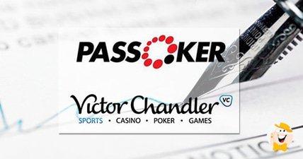 Passoker and victorchandler com reinforce licensing deal
