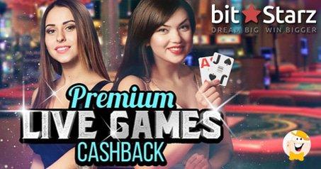 BitStarz Premium Live Games 25% Cashback