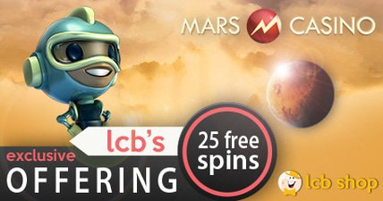 Mars casino free chip in the lcb shop