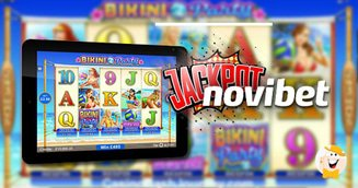 Bikini party pays %c2%a353820 during free spins in novibet mobile casino