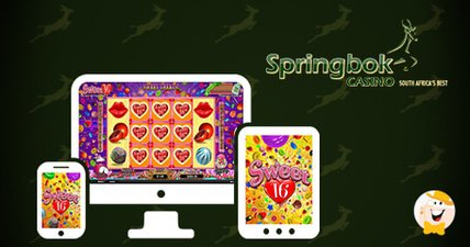 Springbok casino to go live with rtgs sweet 16