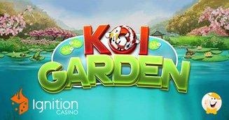 Play Ignition Casino's 'Koi Garden' for 125% Match Bonus