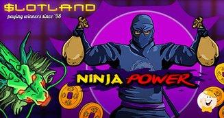 Ninja power slot and bonuses from slotland
