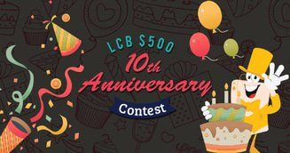 LCB 10th Anniversary $500 Trivia Contest