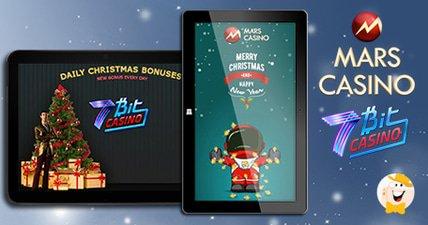 Christmas bonuses at mars casino and 7bit