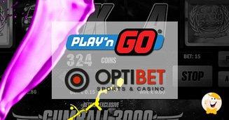 Latvian Players Get a Taste of Play'n GO via Optibet