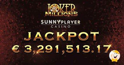 Sunshine and a %e2%82%ac3.3m progressive for sunnyplayer casino winner