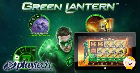 February Launch Planned for Playtech's Green Lantern Slot