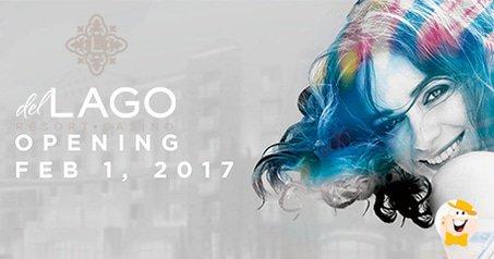 del Lago Resort & Casino to Open in February