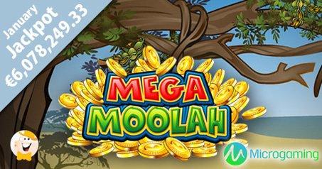 Mega Moolah Strikes Again with €6 Million Win