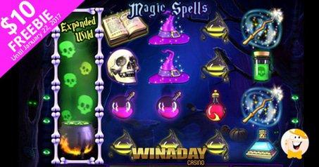 WinADay Magic Spells Bonuses