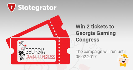 Georgia gaming congress tickets to be won at slotegrator