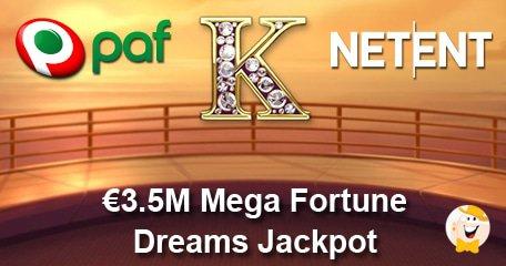 Mega Fortune Dreams Jackpot won at Casumo casino