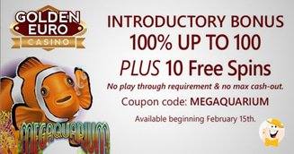 Golden Euro Casino to Kick Off RTG Megaquarium Promo