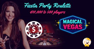 Magical Vegas' Fiesta Party Roulette