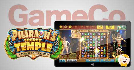 Gameco launches pharaohs secret temple in ac casinos