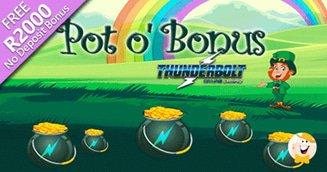 Thunderbolt Casino's St. Patrick's Day Treasure Hunt