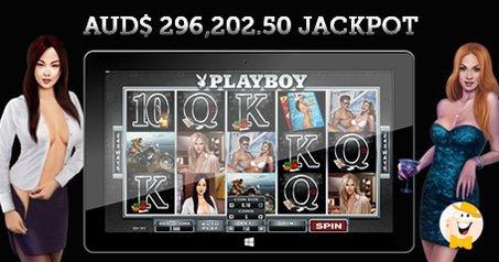 Playboy Slot Awards $ 296,202.50 at Crazy Vegas