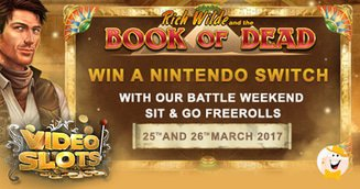 VideoSlots Nintendo Switch Weekend