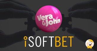 Vera&John Integrate iSoftBet Content